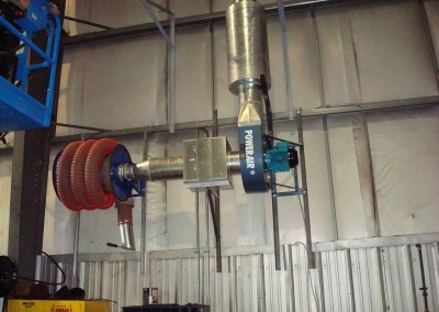 Hose Reel Exhaust Systems Texas Electronics