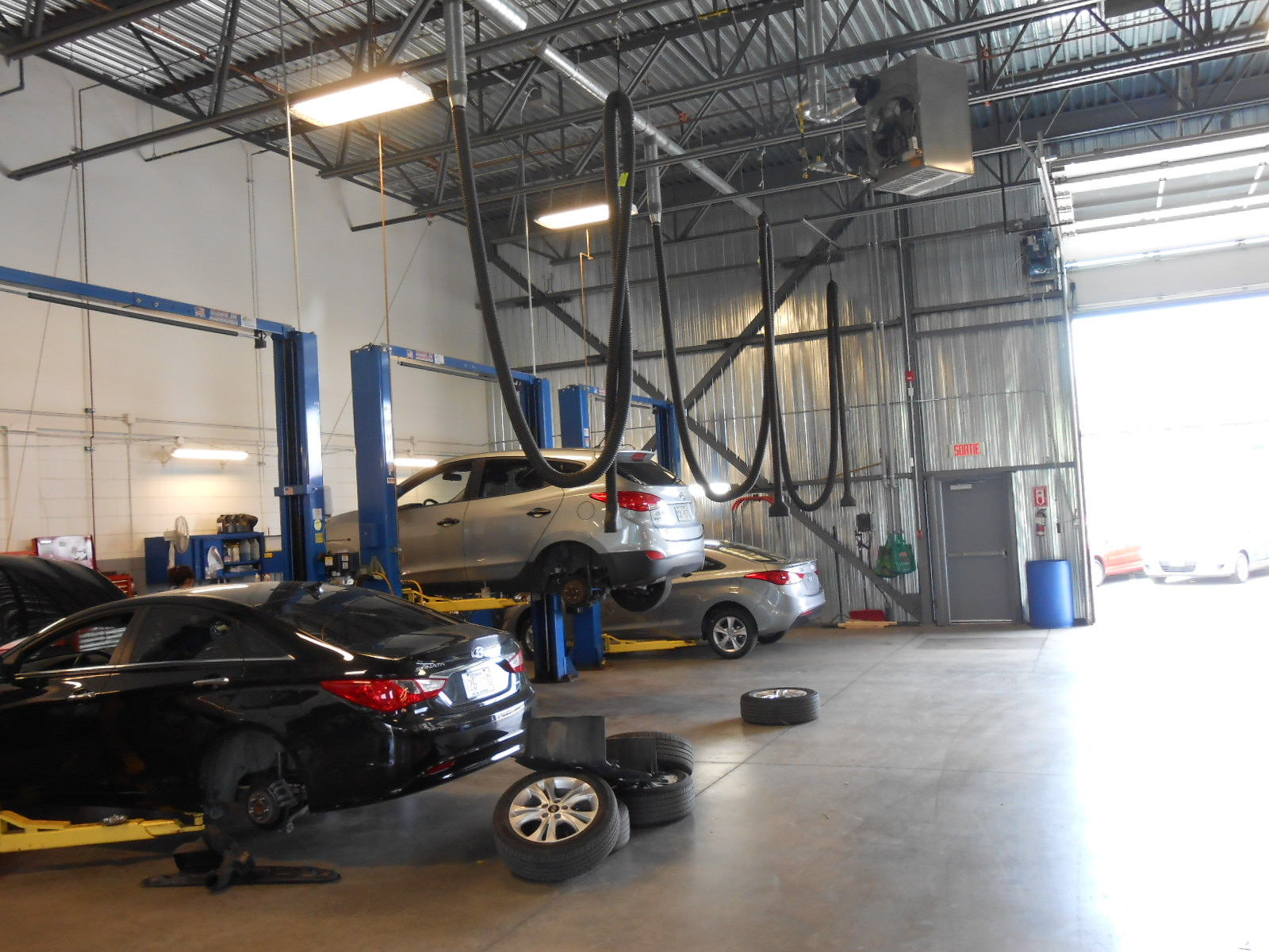 Cord And Pulley Vehicle Exhaust Texas Electronics